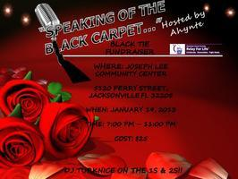 """SPEAKING OF THE BLACK CARPET....""    Black Tie/Black..."