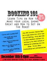 Book Your Band - Booking 101