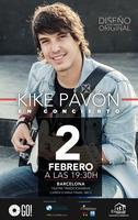 Kike Pavón en concierto, presenta Diseño Original