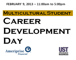 2013 Multicultural Student Development Day presented...