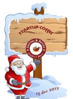 """Startup Coffee"" with Santa Claus"