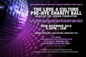 The Love4Culture Ball - in aid of The Joshua Foundation