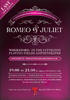 Romeo and Juliet at Lyttelton Playing Fields Amphitheat...
