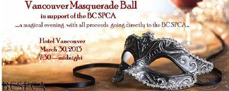 Vancouver Masquerade Ball in support of the BC SPCA