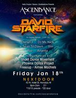 AscenDance w/David Starfire at Nextdoor 01.18.13