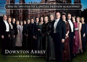 KLCS Downton Abbey Season 3 Special Preview Screening