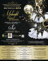 """Midnight at Cirque Du Monde"" New Year's Eve 2013"