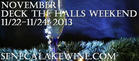 NDTH_CLR, Nov. Deck The Halls Wknd, Start at Chateau...