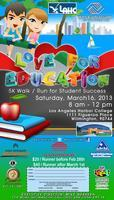 Love For Education Walk/ Run for Student Success