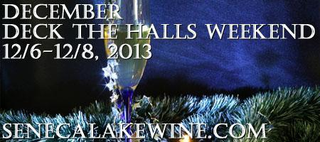 DDTH_RED, Dec. Deck The Halls Wknd, Start at Red Newt