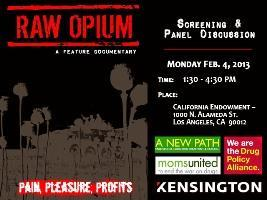 Raw Opium at California Endowment