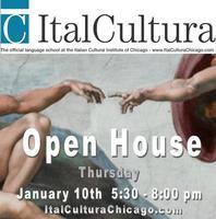Jan 10th Open House @ ItalCultura and the Italian...