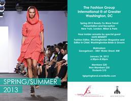 Fashion Group International DC Spring 2013 Trend Event