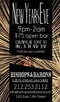 New Years Eve at Bishops and Baron's