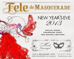 Pour Vous New Years Eve Party