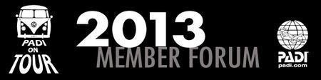 Tampa 2013 PADI Member Forum