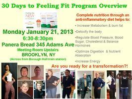 30 Days to Feeling Fit Challenge: Program Overview