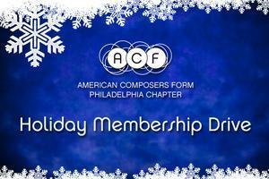 Holiday Membership Drive