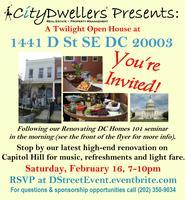 CityDwellers Renovation: Capitol Hill Twilight Open...