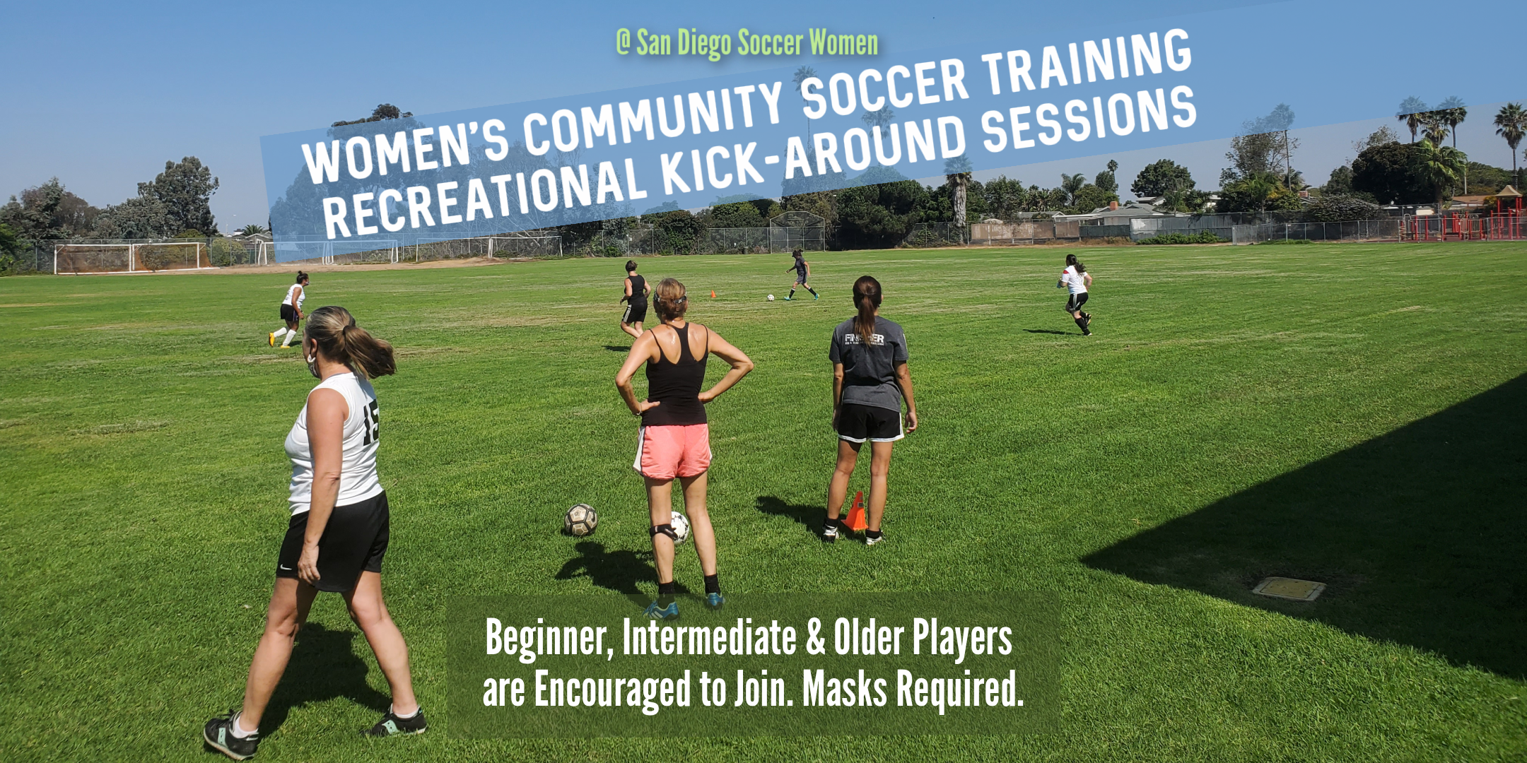 Soccer Women All-Levels Training (Masks + Distancing)
