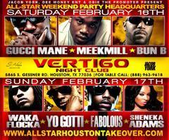 Gucci Mane, Meek Mill, Bun B, Waka, Yo Gotti,...