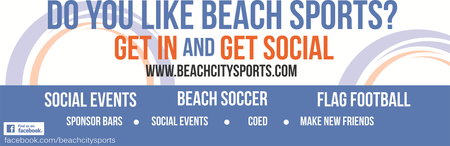 BEACH CITY FITNESS CHALLENGE – No Excuses!