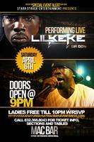 """LIL KEKE"" DA DON Performing Live at The MAC BAR 