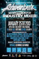 @Schweinbeck 1/25 Industry Mixer @ClubSpaceMillen