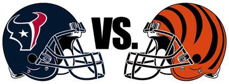 Cincinnati Bengals vs. Houston Texans NFL Playoffs...