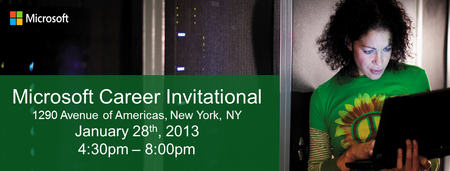 Microsoft Career Invitational - New York