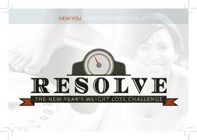 Advance Workshop  Resolve: Resolutions to Revolutions