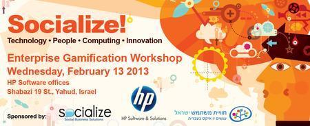 Enterprise Gamification Workshop / Tel Aviv