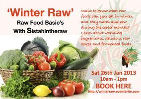 'Winter Raw' Food with SISTAHINHERAW