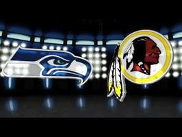 Seattle Seahawks vs. Washington Redskins NFL Playoffs Game...