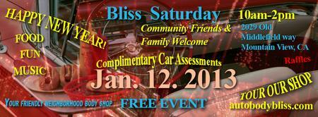 Auto Body Bliss - BLISS Saturday HAPPY NEW YEAR!