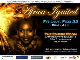 2013 AFRICAN ECONOMIC FORUM (AEF) PARTY: AFRICA IGNITED