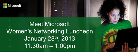 Meet Microsoft - Women's Networking Luncheon