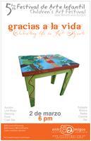 """5th Annual Children´s Art Festival """"Gracias a la Vida"""""""