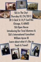 SEA in the City Guest Speaker!