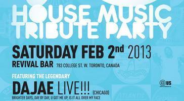 The 90's House Music Tribute Party w/ DAJAE (Sat Feb...