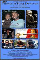 J Whaley Music presents....Friends of King Donovan...