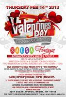 Valentines Day Dinner At Salsa Con Fuego