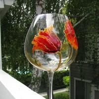 Glass painting class - surprise your Valentine!