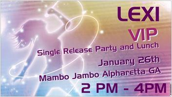 SINGLE Release VIP  FAN Party and Lunch w Pop Singer Le...