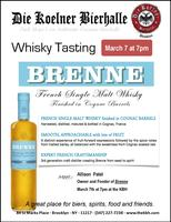 Whisky Tasting -- Brenne