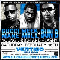 GUCCI MANE - Bun B - MEEK MILL ALLSTAR WEEKEND @...