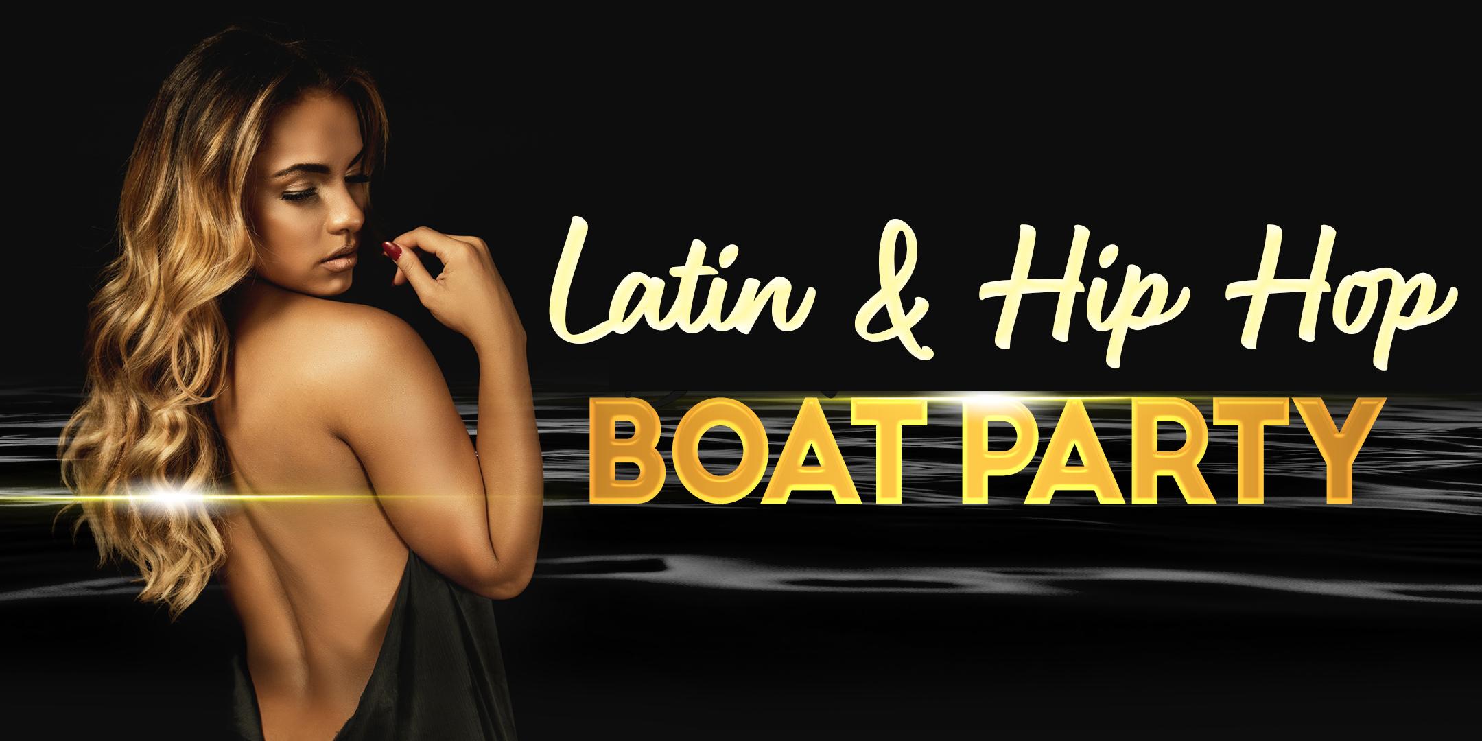 Latin & Hip Hop NYC DJ Xermane Boat Party Yacht Cruise - Sunday Oct 18