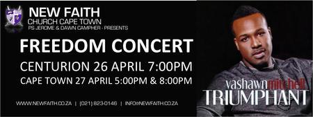 Freedom Concert with Vashawn Mitchell