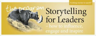 Webinar — Storytelling for Leaders