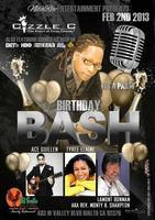 "Cizzle C "" It's Yo Birthday"" BASH!!!"